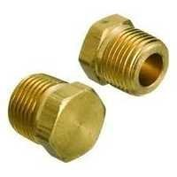 Brass Pipe Thread Pipe Cap