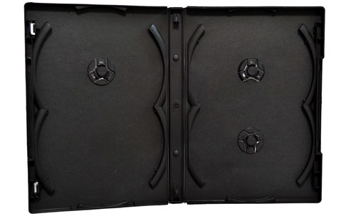 Black DVD Library Case