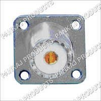 UHF Socket Square 4 Hole Fixing