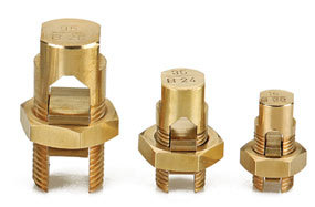 Brass Bolt Connectors