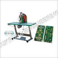 Tarpaulin Semi Automatic Eyelet Machine