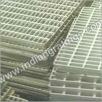 Galvanized Mild Steel Gratings