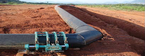 HDPE Pipe Laying