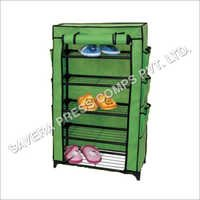 Green Shoe Rack