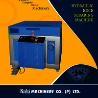 Hydraulic Edge Squaring Machine