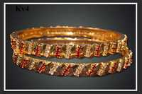 Fancy Gold Plated Bangles