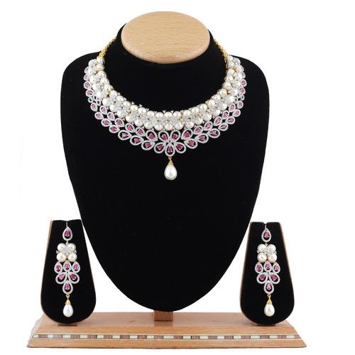 Necklace - American Diamonds