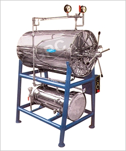 Horizontal Cylindrical Autoclave