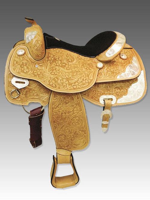 Show western saddle