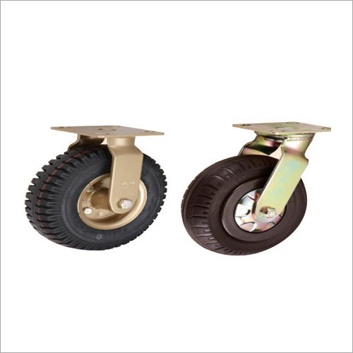 Pneumatic Rubber Castor Wheels