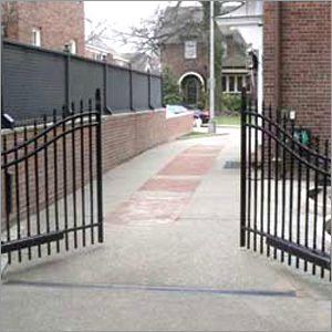 Industrial Driveway Gate