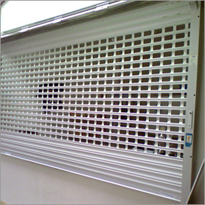 Perforated Rolling Shutters