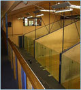 Glass Wall Squash Courts