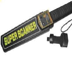 Super Scanner Hand Held  Metal Detector With Vibrator