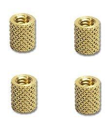 Brass Round Threaded Inserts