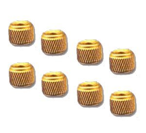 Brass Helical Knurled Inserts