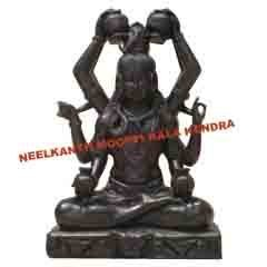 Shiva Black Statue