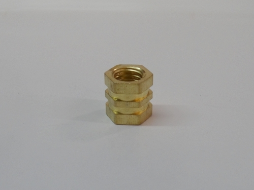 Triple Hex Brass Inserts