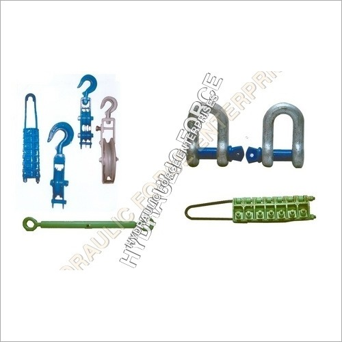 Overhead Transmission Line Stringing Tools