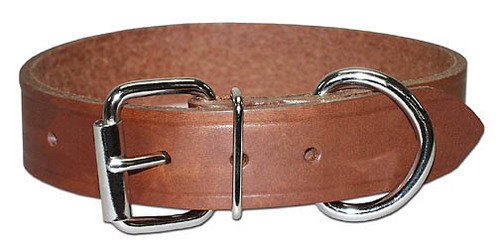 Regular leather collar