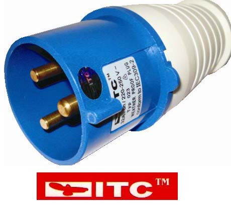 16Amp 3 pin Plug And socket