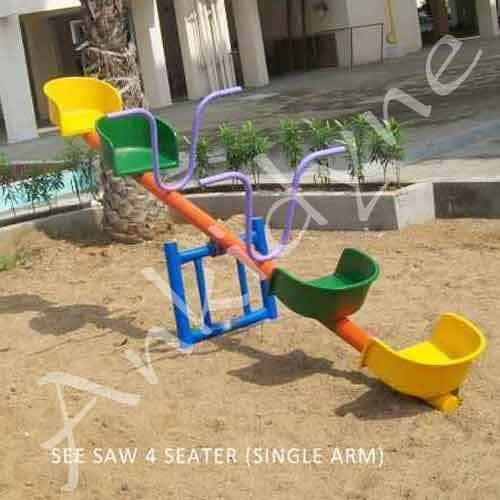 Multi Seater FRP See Saw
