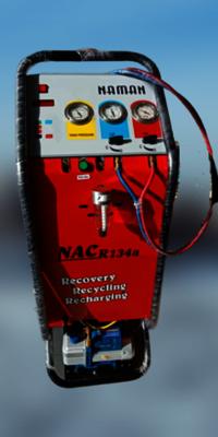 Semi Automatic Car AC Machine