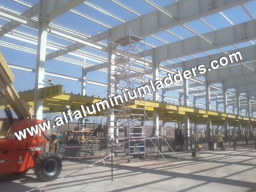 Aluminium Scaffolding Tower With Stabilizer