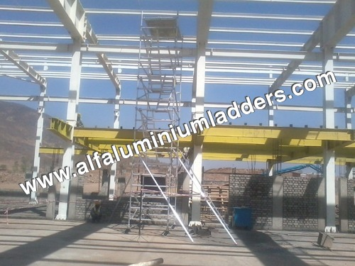 Aluminum Mobile Tower Ladders