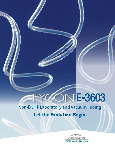 Non-DEHP Laboratory and Vacuum Tubing