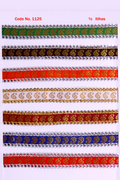 Golden Prinited Zari Laces