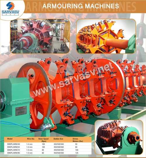 Armouring And Laying Machines