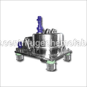 Four Point Suspended Bottom Discharge Centrifuge