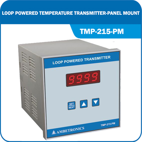 Loop Powered Temperature Transmitter- Panel mount