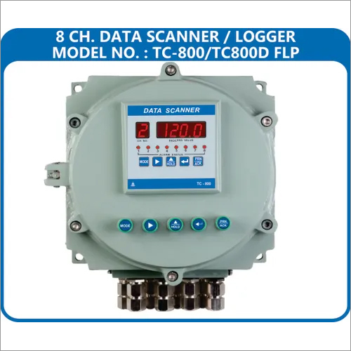 8 Channel Data Logger Flameproof