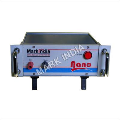 Electrolytic Metal Marking Machine