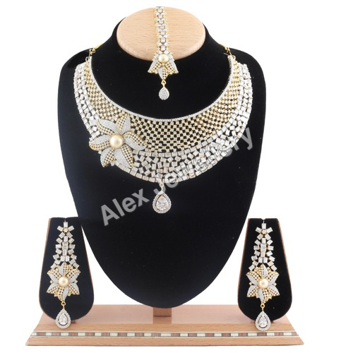 American Diamond Necklace Sets