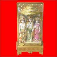 Sri Ram Gold Plated God