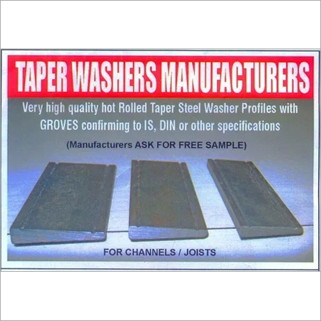 Taper washer