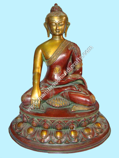 Buddha Medicine with Oval Base