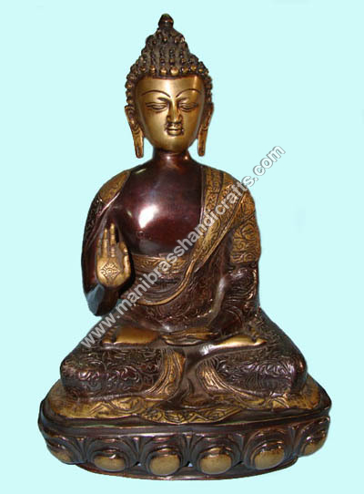 Buddha Carved Blessing Hand