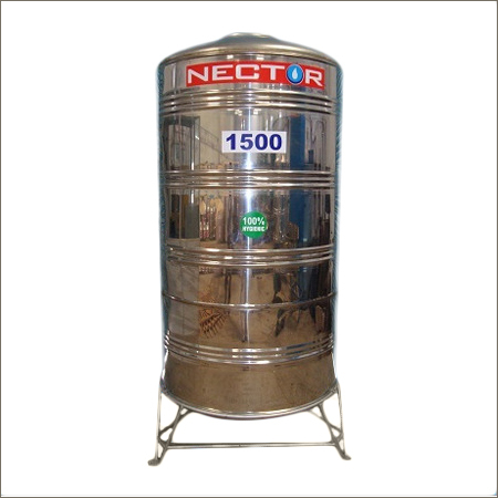 1500 Litter SS Water Storage Tank
