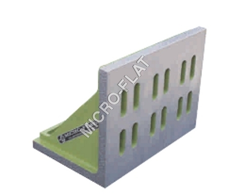 CAST IRON SLOTTED AND WEBBED ANGLE PLATES