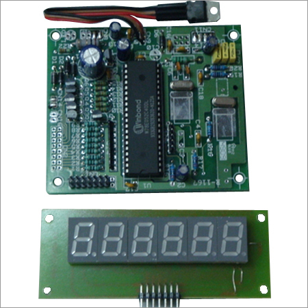 Electronic Weighing Machine Circuit
