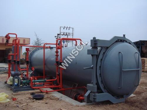 Pole Treatment Plant