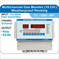Weatherproof Multichannel Gas Monitor