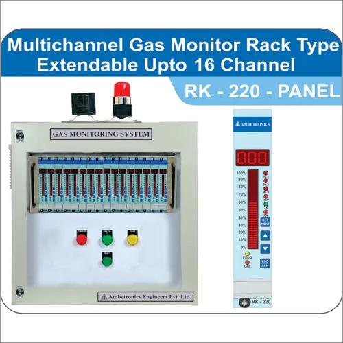 MULTICHANNEL GAS MONITOR PANEL TYPE