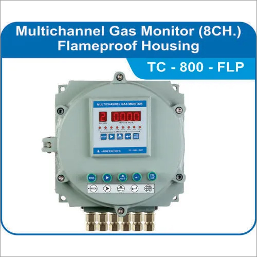 Panel Mounted Multichannel Gas Monitor