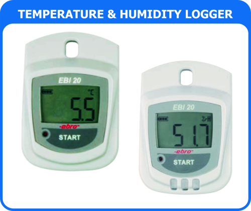 Rh & Temperature Data Logger