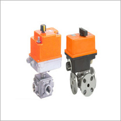 Electrical Actuated Ball Valve